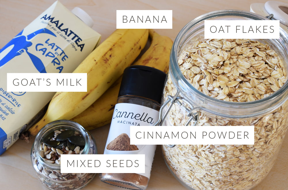 Oats-Breakfast-Recipe-Simple Ingredients